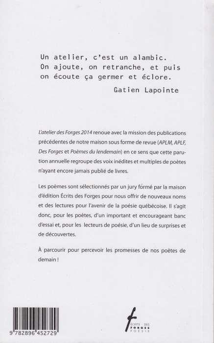 Latelier Des Forges 2014
