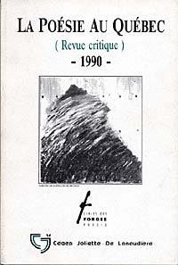 La poésie au Québec 1990