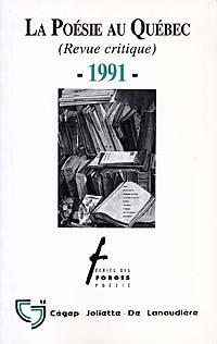 La poésie au Québec 1991