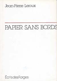 Papier sans bords