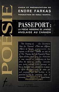 Passeport : La poésie moderne de langue anglaise au Canada